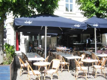 Cafe Sebastopol at Sankt Hans Torv in Copenhagen