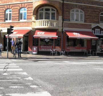Danish smørrebrød store T.H. Sørensen in Copenhagen