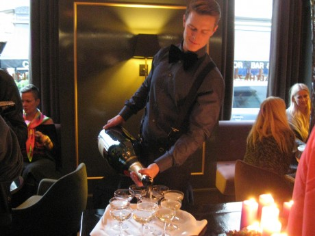 Balthazar Champagne Bar in Copenhagen