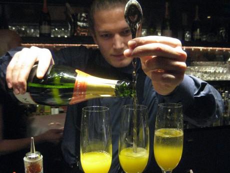 Balthazar Champagne Bar in Copenhagen