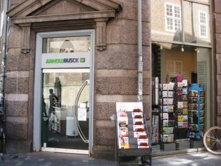 Arnold Busck book store in Copenhagen